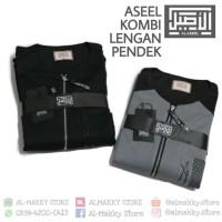 Al Aseel Kombi Lengan Pendek - Jubah Gamis Santai Asheel Combi Short