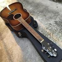 Gitar Akustik Greg Benneth Samick Warna Coklat Kayu
