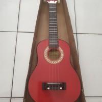 Gitar Ukulele SHEN SHEN / Kentrung Akustik / gitar kecil 4 senar