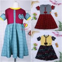 (Rample) Dress Sabrina uk 4-5 Tahun / Dres Anak Perempuan Baju Cewek