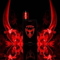Authentic Coil Gear Force 200w Starter Kit Box Mod with Arma RDA Vape