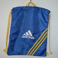 Tas Gym/ Fitness / Futsal / Sepatu Adidas Original blue yellow