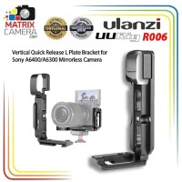 Ulanzi UURig R006 Quick Release L Plate Bracket for Sony A6400 Camera