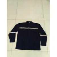 Baju Kerja Safety / Baju Proyek / Seragam Safety Warna Hitam