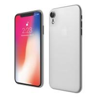 ASENARU iPhone XR Casing - Super Slim Signature Case - Glacier White