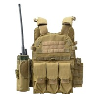 Rompi Carrier Tactical Airsoft Body Vest Army Militer Asli Import