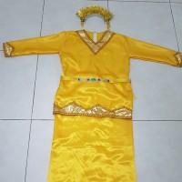 Baju adat anak padang SD // Adat sumatera barat dgn sunting