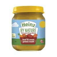 HEINZ Beef Sweet Potato Mash 120 Gr