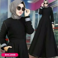Gamis Syari Wanita Arab Baju Daster Muslimah Fashion Muslim Premium