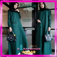 Bonita Dress Remaja Muslim / Baju Gamis Wanita Terbaru Kekinian