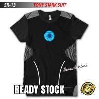 Baju Kaos Keren Super Hero IRONMAN TONY STARK Suit 3D Full Print