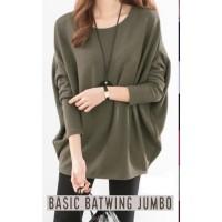 Kaos Basic Batwing Jumbo Baju Ibu Hamil Big