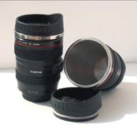 Gelas mug lensa kamera canon camera cup cannon lens stainless tumbler