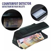 Alat Pendeteksi uang asli 318 biru Lampu UV deteksi cek uang palsu