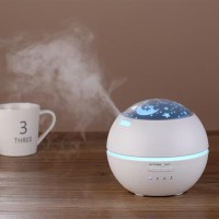 Romantic Projection Light Essential Oil Aroma Mist Difusser Humidifier