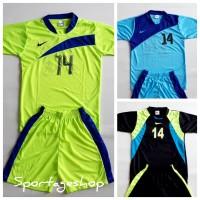 Baju Kaos Tim Team NIKE Anak Setelan Bola Futsal isi 12 stel Murah