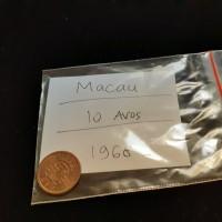 Macau Coin / 10 Avos / 1968