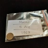 Macau Coin / 5 Avos / 1967