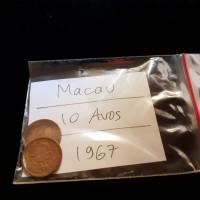 Macau Coin / 10 Avos / 1967