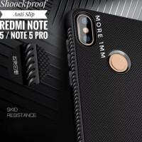 Promo Shockproof Anti Slip Slim Black Matte Case Xiaomi Redmi Note 5