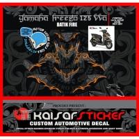 sticker striping decal motor yamaha freego BATIK TRIBAL 2
