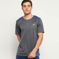 NIMO Kaos Olahraga Comfort Series Grey Blue size S, M, L, XL murah