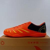 Sepatu Futsal OrtusEight Blitz IN Ortrange Yellow Black 11020040 Ori