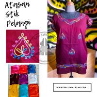 Atasan Stik Pelangi | Atasan Bali | Baju Bordir | Baju Bali | Kaos Bal