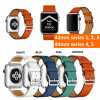 42mm Apple Watch NEW Model HERMES SINGLE TOUR Leather Strap Band