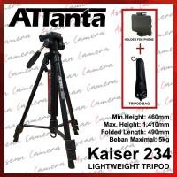 Attanta Kaiser 234 Lightweight Tripod DSLR - Phone Holder