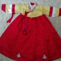 hanbok anak baju adat tradisional korea oct09 kostum costume