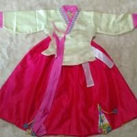 hanbok anak baju adat tradisional korea oct08 kostum costume