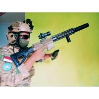 AR-15 spring airsoft / M4 Predator Rifle