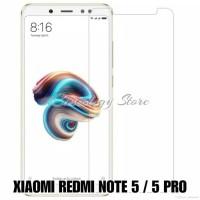 Tempered Glass Xiaomi Redmi Note 5 Pro / Anti Gores Kaca