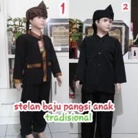 stelan baju pangsi tradisional anak anak no 7-15