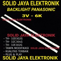 BACKLIGHT TV LED PANASONIC TH 32D302G TH 32C304G TH 32E302G 3V 6K