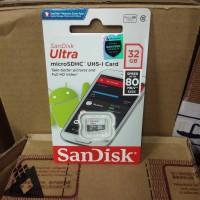 SanDisk Ultra Micro SD/Memory Card 32GB 80Mb/s Class 10 Original