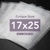 Embossed Vacuum Bag 17x25 cm / Plastik Vakum Emboss / Vacum Sealer ACE
