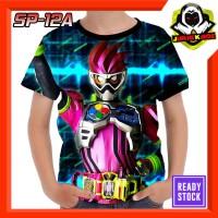 Kaos Kamen Rider Ex-aid Karakter Serial RTV Tokusatsu Jepang Baju Anak