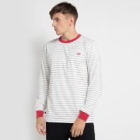 DICKIES-LORETTO UNI SEX LONG SLEEVE KU4170208-Kaos T-shirt Pria-WHITE