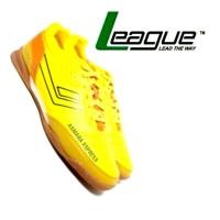 League Original Legas Series Meister LA M Sepatu Futsal - Yellow As