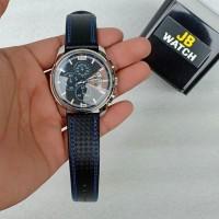 jam tangan pria skmei original tali kulit crono aktif garansi