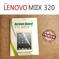 Lenovo Miix 320 - Premium Screen Guard Protector Anti Gores Transparan