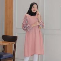 Baju Tunik Wanita Muslimah Remaja Terbaru 2019 MC 195