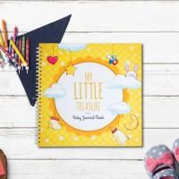 Baby Journal / Buku Bayi / Baby Book My Little Treasure (Yellow)