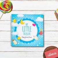 Baby Journal / Buku Bayi / Baby Book My Little Treasure (Blue)