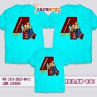 Jual Baju Kaos Family Ultah   Kaos Keluarga Couple Minion NW 1060
