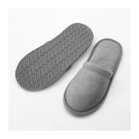 1 Pasang Sandal Hotel Rumah Kamar AbuAbu Room Slippers All Size 40-43