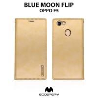 Case OPPO F5 GOOSPERY Blue Moon Flip Soft Case