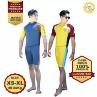 Baju Renang Mengapung Pria Dewasa Safe Swim